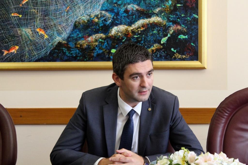 Gradonačelnik Franković s investitorima i projektantima hotela Belvedere